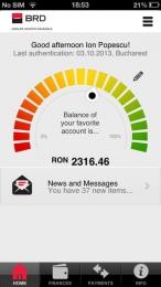 MyBRD Mobile pentru iPhone / iPad