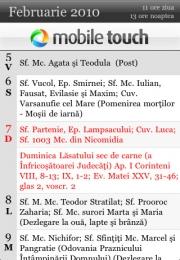 Calendar Crestin Ortodox Free