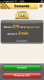 CleverTaxi pentru iPhone