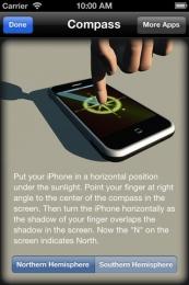 Compass Free pentru iPhone