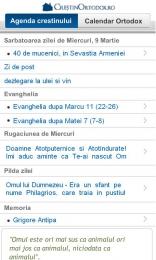 Calendar Ortodox pentru Android