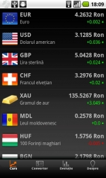 Romanian currency – Curs valutar pentru Android