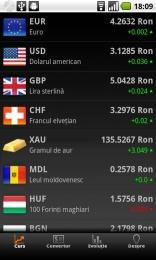 Romanian currency – Curs valutar pentru Android