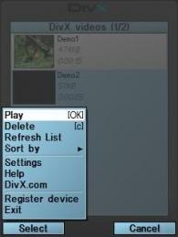 DivX Mobile Media 1.1 - BlackBerry