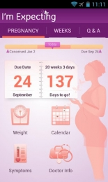I'm Expecting - Pregnancy App