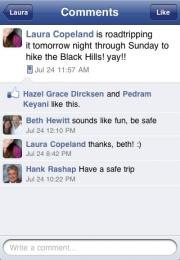 Facebook pentru BlackBerry