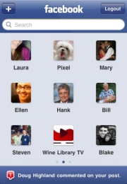 Facebook Mobile 3.1.2 - iPhone