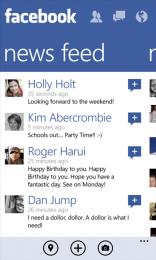 Facebook pentru Windows Phone