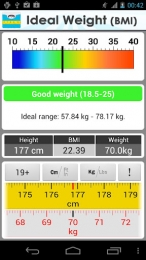 Greutatea ideală - Ideal Weight (BMI)