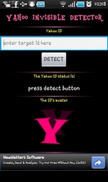 Yahoo Invisible Detector