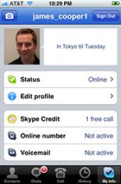 Mobile Skype 3.0