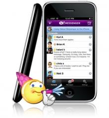 Yahoo! Messenger pentru iPhone