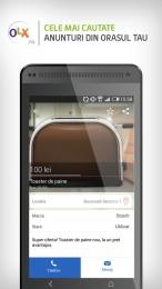 Aplicatia OLX pentru Android