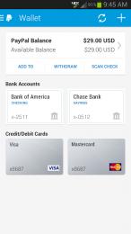 PayPal pentru telefoane si tablete Android