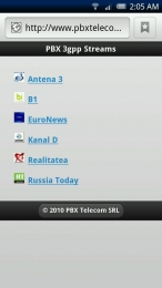 PBX TV pentru Android