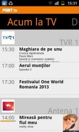 PORT TV pentru Android