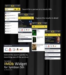 IMDb Widget 0.1