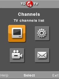 Live TV Online  - Symbian