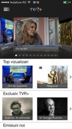 TVR+ pentru iPhone si iPad