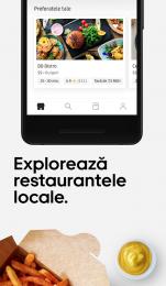 Uber Eats: Livrări de mâncare în apropiere
