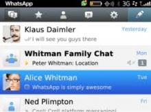 WhatsApp pentru BlackBerry