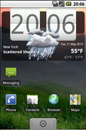 WF Clock widget v1.0.2