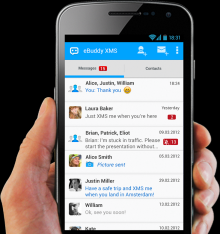 XMS - Unlimited messaging - eBuddy