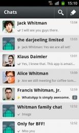 WhatsApp Messenger pentru Android