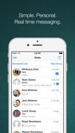 WhatsApp pentru iPhone