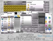 Whiteside Symbian Theme