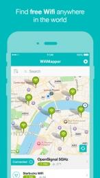 WifiMapper pentru iPhone / iPad